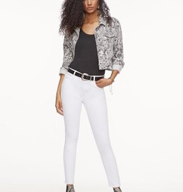 Sanctuary Stevie Cropped Trucker Jacket Queen Snake