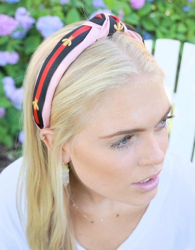 LABEL Bee Top Knot Headband