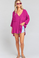 Show Me Your Mumu  The Dahli Tunic ~ Purple