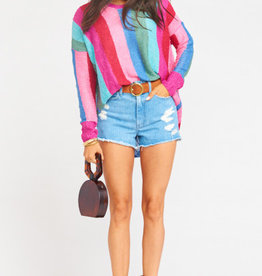 Show Me Your Mumu Bonfire Sweater ~ Madly Stripe Knit