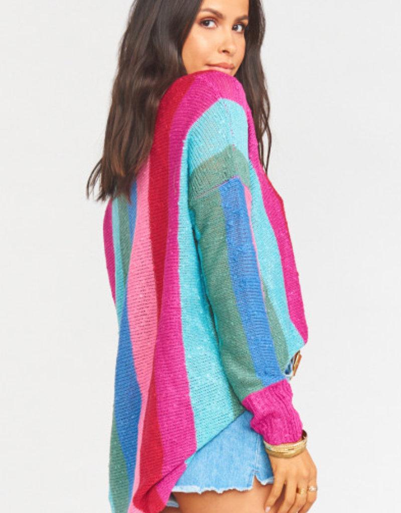 Show Me Your Mumu  Bonfire Sweater ~ Madly Stripe Knit