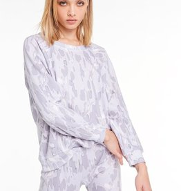 Wildfox Rose Camo Sommers Sweatshirt