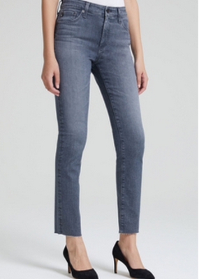 AG Jeans Farrah Skinny Ankle - Gray Light