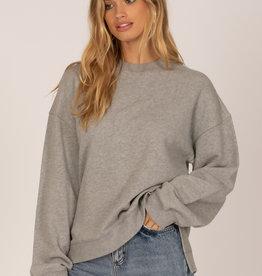 Amuse Society Low Key Fleece Pullover