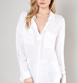 LABEL High Low Blouse