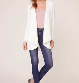 Jack by BB Dakota Draw the Line Ribbed Cardigan
