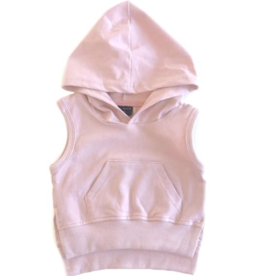 Little Bipsy Sleeveless Hoodie - Blush
