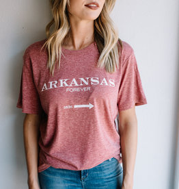 LABEL Arkansas Forever Tee