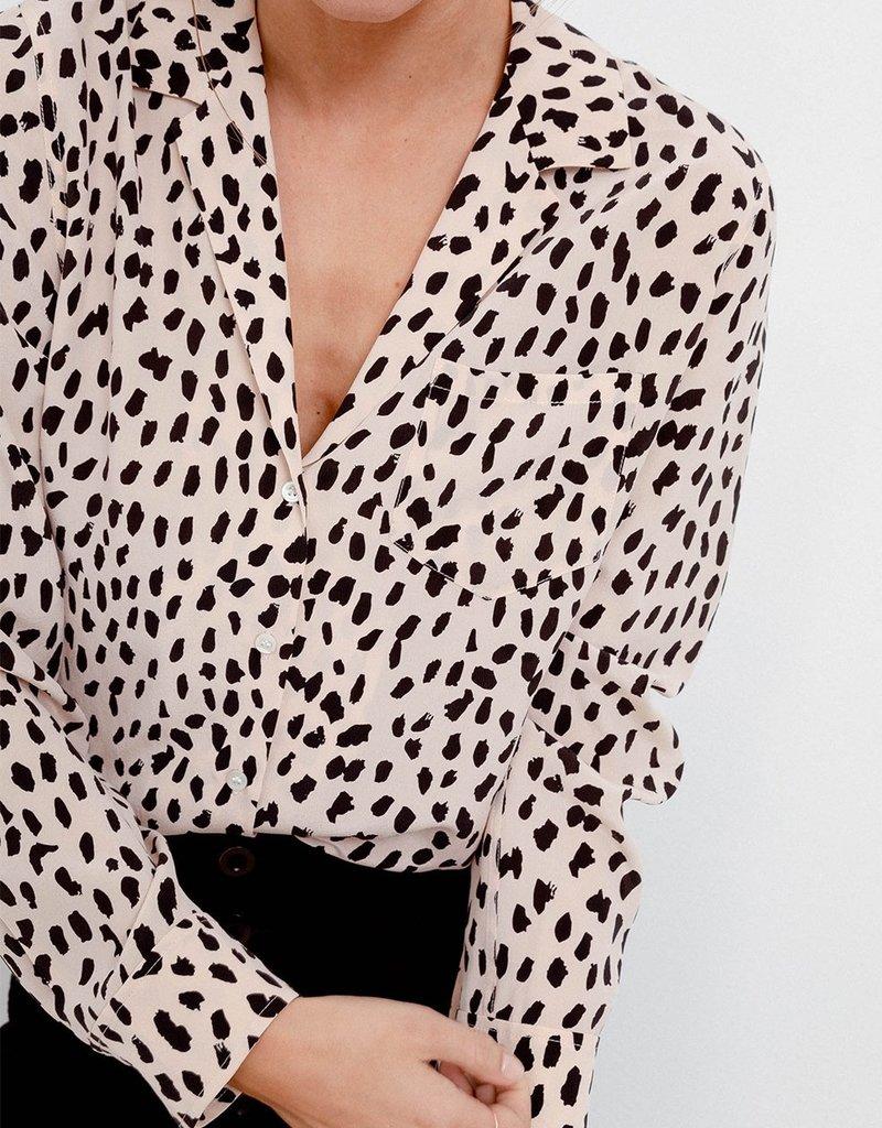 Rails Rebel Top - Silk Blush Spotted