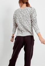 Rails Marlo Sweatshirt - Flocked Grey Leopard