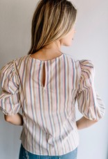 English Factory Just the Right Stripe Top