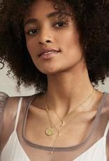 Gorjana Luna Coin Pendant Necklace