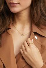 Gorjana Balboa Shimmer Interlocking Necklace