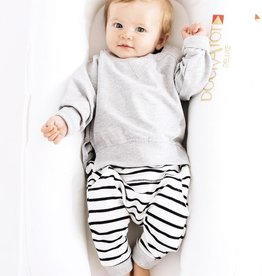 Little Bipsy Stripe Jogger - Grey