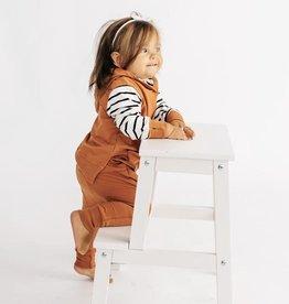 Little Bipsy Stripe Hoodie - Rust