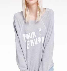 Wildfox Pour Favor Sommers Sweatshirt
