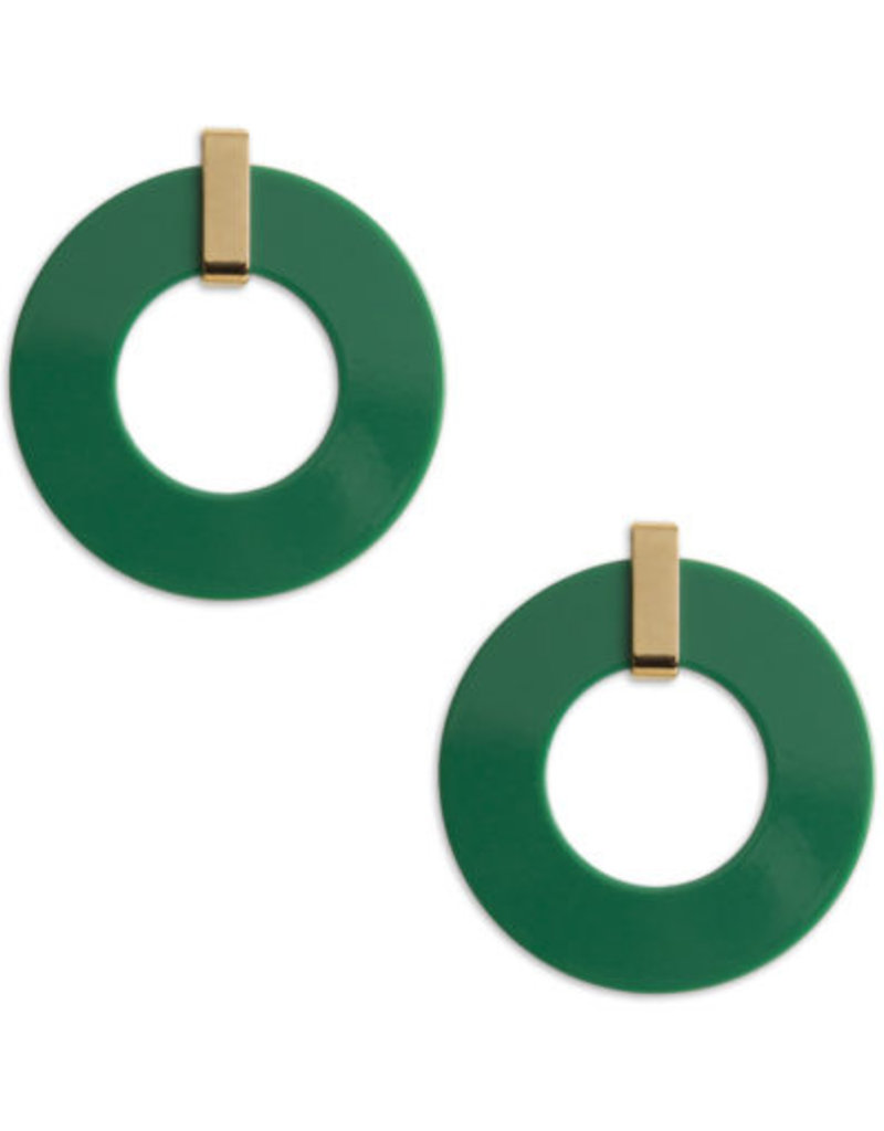 Neely Phelan Hunter Green Hoop