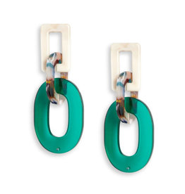Neely Phelan Parker Resin Drop Earring