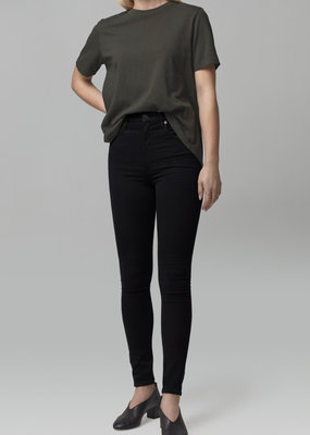 Citizens of Humanity Chrissy High Rise Skinny - All Black