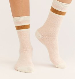 Free People Quincy Cozy Stripe Socks