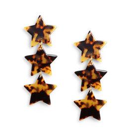 Neely Phelan Triple Star Cascading Earring
