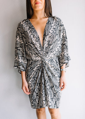Lavender Brown Regina Dress