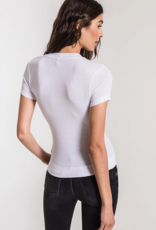 Z Supply The Micro Rib Fitted Tee