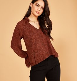 Minkpink Wild Cat Blouse