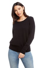 Chaser Lightweight Sweater Long Sleeve Drop Shoulder Crew Neck Pullover
