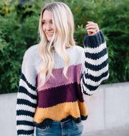 Blank NYC Striped Sweater