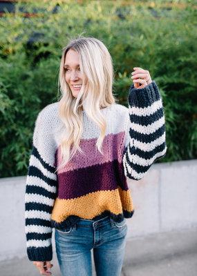 Blank NYC Striped Sweater