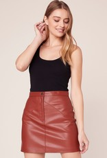 BB Dakota Keep Livin' Mini Skirt - Rust