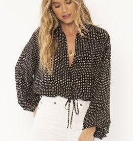 Amuse Society Camille Woven Top