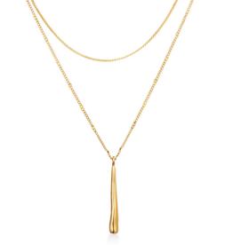 Jenny Bird Sila Pendant Layered Necklace
