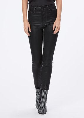 Paige Margot Ankle - Black Fog Luxe Coating