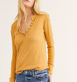 Free People We The Free Military Mix Henley