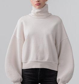 AGOLDE Balloon Sleeve Turtleneck Sweatshirt
