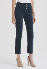 AG Jeans Isabelle Button Fly Straight Crop