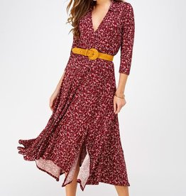 Faithful Floral Midi Dress
