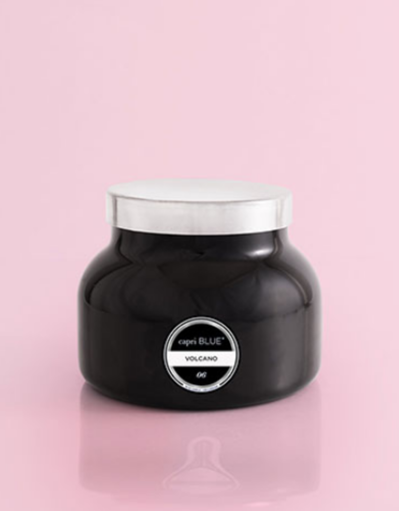Capri Blue Volcano Black Signature Jar Candle - 19 oz