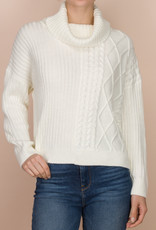 Splendid Cable Pullover