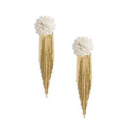 Neely Phelan Waterfall Pearl Earring