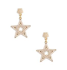 Neely Phelan Studded Pearl Star Earring