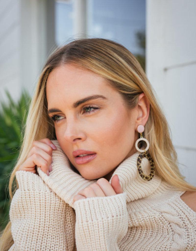 Neely Phelan Olivia Hoop Earring