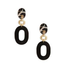 Neely Phelan Francie Hoop Drop Earring