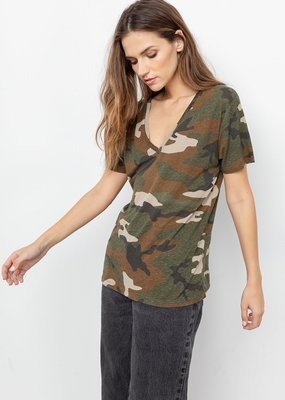 Rails Cara Tee - Jungle Camo