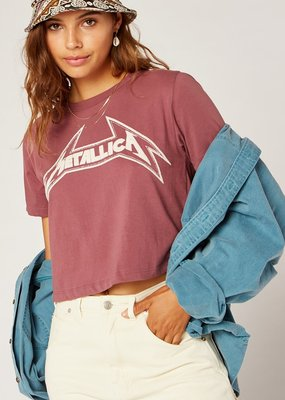 Daydreamer Metallica Young Metal Rebel Crop Tee