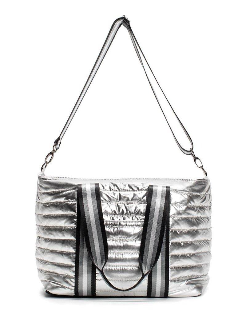 Think Royln Wingman Bag - Silver Foil