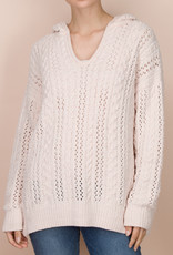 Splendid Chenille Cable Sweater