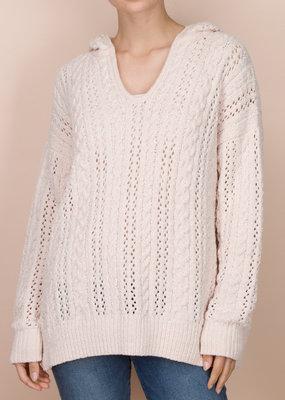 Splendid Chenille Cable Sweater